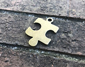 Puzzle Piece Bottle Opener Rustic Wedding Favors Bachelorette Party Bridal Shower Gifts Autism Awareness Beer Bottle Keychain