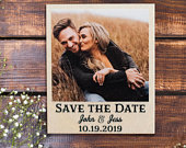 Wood Save The Date Magnets, Wedding Save The Date Magnets, Personalized Save the Date Magnets, Rustic Save The Date Magnets, FREE SHIPPING