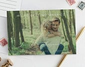 Photo Save The Date INSTANT DOWNLOAD Editable Postcard, Save The Date Postcard, Photo Save The Date Cards, Save The Date With Photo, Picture