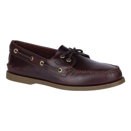 Men's Sperry Top-Sider Authentic Original Boat Shoe, Size: 8 W, Amaretto