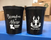 16oz Stadium Cups, Pinch Me Theyre in Love Crawfish Lobster Cups for Crawfish Boil Wedding/Engagement, Crawfish Favors, Custom Cup (31)