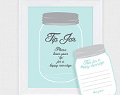 wedding guest book cards mason jar tip jar diy printable unique marriage advice cards, wedding wishes download, alternative guestbook