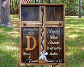 Cord Of Three Strands, Unity Braids, Wood Cross, Wedding Wood Signs, Unity Wedding Ideas, Gods Knot, Personalized Gifts, Rustic Sign, Unity