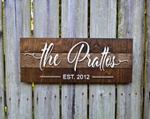 Personalized Wedding Gift, Wedding Gift, Custom Name Sign, 3D Last Name Wood Sign, Rustic Family Established Sign, Personalized Name Sign