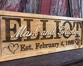 Rustic Wedding Signs Custom Wooden Sign Wall Art Personalized Couples Sign Ideas Family Last Name Bridal Shower Gift Wedding Engagement Gift