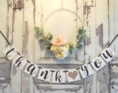 Thank You Sign, Wedding banner, Thank you Sign, Champagne Wedding banner, Wedding Decoration, Thank You banner, Champagne Wedding decor