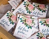 Custom Seed Packets, Wedding Favors, Party Favors, Bridal Shower Favors, Spring Wedding, Summer, Favors, Wedding Favors, Favor