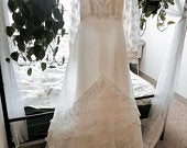 Vintage Wedding Gown with Train