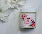 Wedding Favor Soy Candle (4oz) Personalized Wedding Favors Wedding Favor Candles Wedding Favors Shower Favors