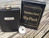 Flask, Personalized Flask, Groomsmen Gift, Bridal Party gift, Custom Flask, Groomsman Flask, Wedding Party Flask, Best Man Flask