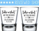 Custom Shot Glasses, Shot Glasses, Shot Glass, Wedding Favors, Wedding Shot Glasses, Custom Shot, Personalized Shot, bridesmaids gifts (116)