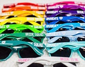Party Sunglasses, Personalized Sunglasses, Wedding Favors, Bachelorette Party Favors, Girls Weekend, Custom Sunglasses,