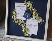 Calla Lily Wedding, Wedding Invitation Keepsake, Navy and Yellow Wedding, Father Of The Bride, Best Friends Wedding