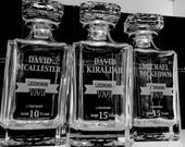 Groomsmen Gifts Ideas, Personalized Decanter, Groom Gift, Groomsman Gift, Groom Gift from Bride, Will you be my Groomsman, Scotch Decanter