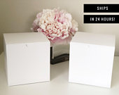 BLANK gift boxes small white square gift box wedding party favor boxes 5x5x5 gift box mug box box for mugs gift boxes favor box