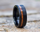 Mens Wedding Band, Wedding Band, Mens Wedding Ring, Wedding Band for Men, Mens Ring, Wedding Band for Men, Wood Wedding Band, Wood Ring Men
