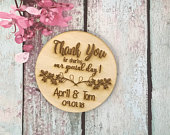 50 Thank You For Sharing Our Special Day Wedding Favors, 3 Wedding Favor Magnet, Bride, Groom, Gift, Save the Date