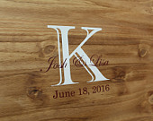 Wedding Guest Book Sign Wood, Guest Book Alternative Names and Wedding Date by OneDayMoreDecor