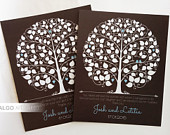 Wedding Guestbook Tree, Wedding Guestbook Alternative, Personalized DIY Guest Book, Gift for Newlyweds, Parent Wedding Gift, DIGITAL FILE