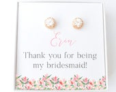 Personalized Bridesmaid Gift Box Bridesmaid Jewelry Thank you for being my bridesmaid Bridesmaid Proposal Will you be my Bridesmaid