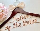 Mother of the bride gift, Mothers day gift, Custom Bridal Hangers, Bridesmaids gift ideas, Wedding hangers with names, Custom hangers