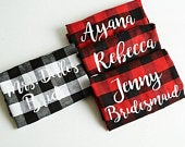 Mrs Flannel, Bride Flannel Shirt, Custom Mrs Flannel, Bridesmaid Flannel, Bride Flannel, Bride Shirt, Bridesmaid Gift, Bridal Party Flannels