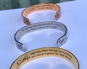 Sister gift, sister bracelet, sister birthday gift, sister in law, SISTER jewelry, rose gold cuff bracelet, sisters forever, gold cuff, love