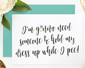 Funny Asking Cards, Funny Bridesmaid Proposal Cards, Funny Maid of Honor, Be My Bridesmaid, Be My MOH, Be My Maid of Honor