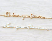 Actual Handwriting Bracelet Signature Bracelet Custom Handwriting Bracelet Name Bracelet Bridesmaid Gift Mothers Day Gift