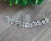 Bridal Hair Piece Crystal Bridal Hair Accessories Wedding Hair Vine Wedding Hair Accessories Bridal Headpiece Crystal Bridal Hairpiece