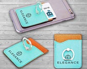 Custom Phone Wallet with Ring Kickstand Laser Engraved Arrow Design Birthday Gift For Sister
