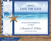 BCH24STDDigital Download Save The Date Beach