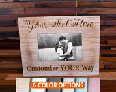Personalized Picture Frame, Custom Photo Frame, Mr Mrs Photo, Bride Groom Frame, Wedding Photo Gift, Bridal Shower, Mr. Mrs. Gift Pictures