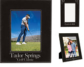 Personalized Leatherette Photo Frame, Black, Custom Photo Frame, Engraved Photo Frame, 5x7 or 8x10, Corporate Gifts, Personalized Gifts