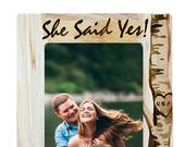 Personalized Picture Frame Engraved Photo Frame, Custom Wedding Gift, Wedding Gift, Housewarming Gift, Anniversary Gift