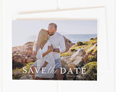 Classic Save the Date, Photo Save the Date, Wedding Save the Date, Printable Save the Date, Save the Date Postcard, Save the Date Magnets