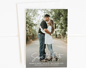 Printable Save the Date, Photo Save the Date, Save The Date Cards, Wedding Save the Date, Save the Date Postcard, Save the Date Magnets, PDF