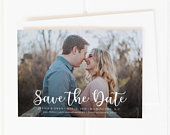 Wedding Save the Date, Printable Save the Date, Photo Save the Date, Save The Date Cards, Save the Date Postcard, Save the Date Magnets, PDF