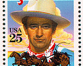 10x John Wayne STAGECOACH 1990 25c Vintage postage stamps. Western movies. Free Shipping! Your 1 source. The best prices on Vintage stamps