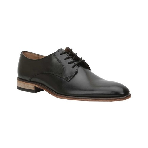 Men's Giorgio Brutini Gallivant Plain Toe Oxford, Size: 15 M, Black Troika Leather
