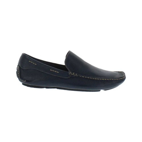 Men's Giorgio Brutini Trayger Moc Toe Slip On, Size: 12 M, Navy Leather