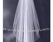 Elbow Fingertip Cathedral choice wedding bridal veil on silver comb ready to wear. Cut plain raw edge White , off white or ivory