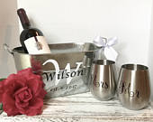Beautiful wedding gift for the couple! Rustic wedding gift for bridal shower, Mothers Day gift set