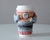 Mothers Day gift. Coffee cozy. Coolest mom ever Travel mug cozy. Cup sweater. Coffee sleeve. Gift for mom. Cup sleeve. Coffee sleeve.