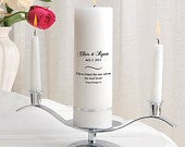 Unity Candle Set Personalized Wedding Candle Sets Unity Candles GC330 CP8
