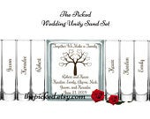 Wedding Unity Sand Ceremony Set Blended Family Together we Make a FamilyBlended FamilyTreeTPUWUS63A