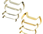 White Yellow Gold Filled Ring Guard Make Aany Ring Thats Too Big Fit Perfectly