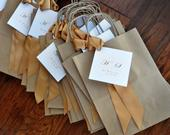 Wedding Favor Bag. (Qty. 1) Gift Bag for Wedding Guest. Br8KFT.
