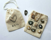 Wedding favors Games for kids Kids Wedding Activities Tic Tac Toe Party Favors Barn Wedding Favor Bags Valentines day