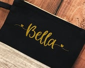Personalized Clutch Purse For Bridesmaids, Teens, Sorority Sisters, Inexpensive Personalized Gift, Big Sis Little Sis Sorority Gift, Clutch